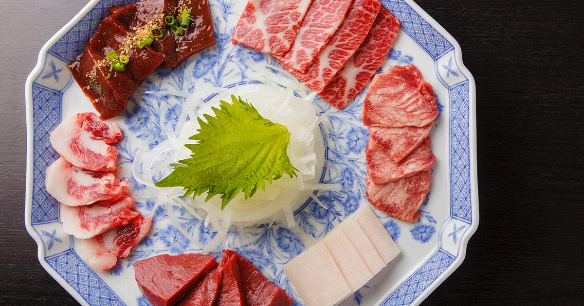 熊本市の馬肉料理専門店「馬料理 天國本店(てんごくほんてん)」【公式】